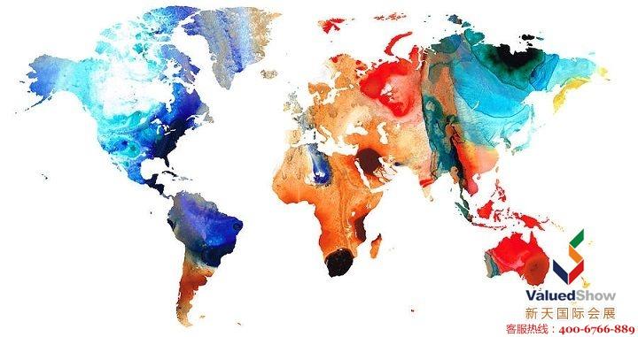 俄罗斯美容展共有来自36个国家的980多家参展商,其中242家是跨国公司